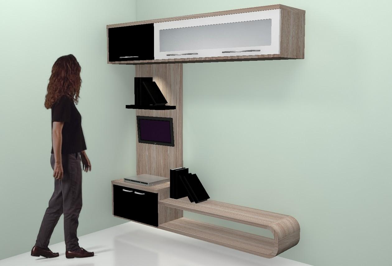 Rak TV Minimalis dan Lemari Gantung - Furniture Semarang ...