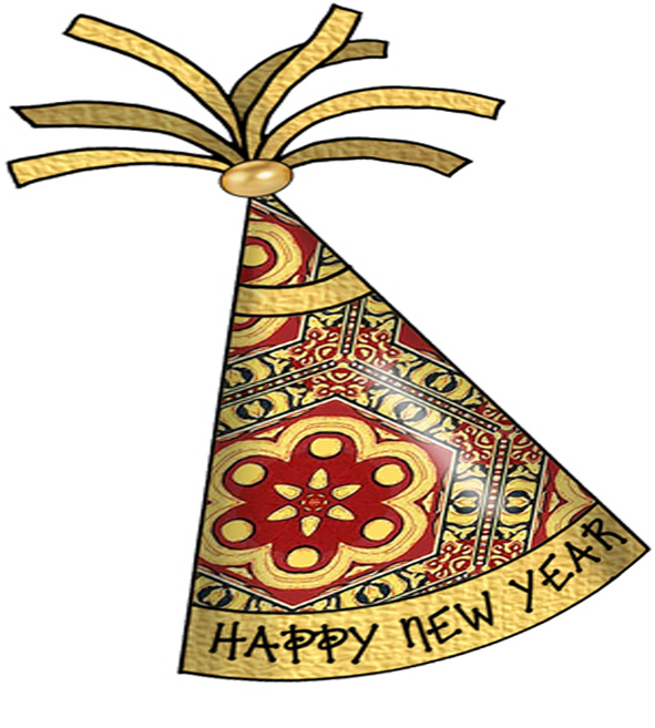 new year hat clipart - photo #13