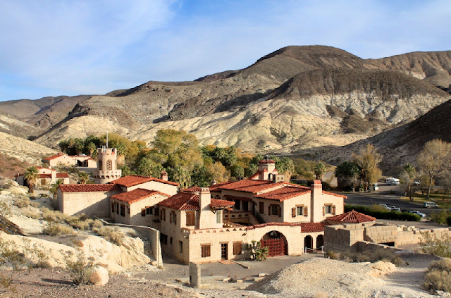 Scotty's Castle no Death Valley