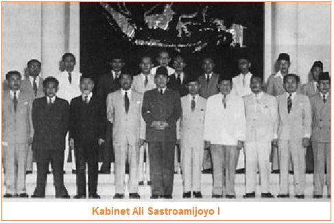 Program kerja kabinet Ali Sastroamijoyo I