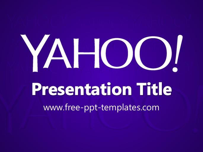 Yahoo ppt template toneelgroepblik Choice Image