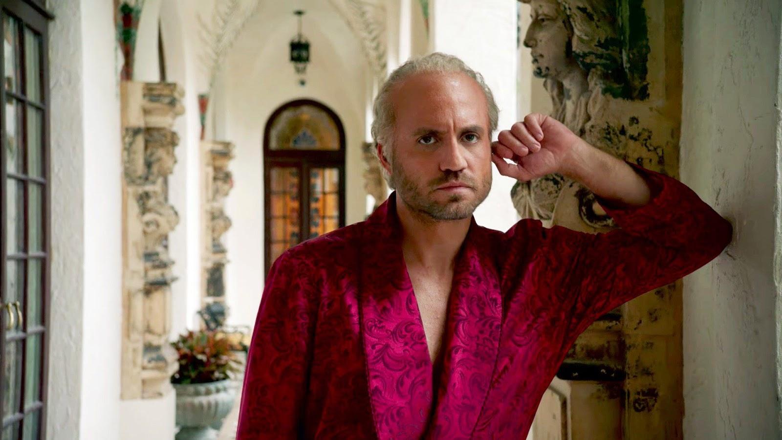 Édgar Ramírez como Gianni Versace en 'American Crime Story'