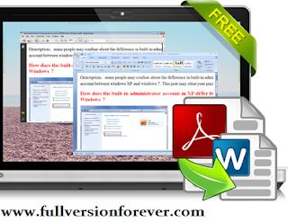 pdf to word converter freeware for windows