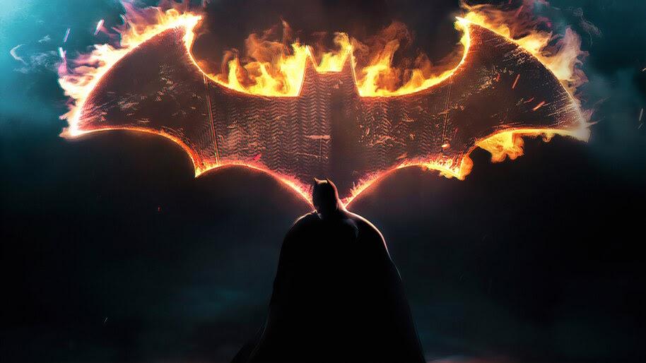 Batman Dark Knight Logo 4k Wallpaper 4 2181