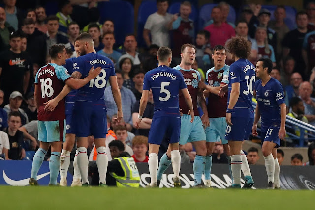 Chelsea 2-2 Burnley - Boring, laboured and mundane. Have we not said all this before?