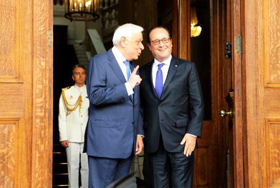 Διήμερη επίσημη επίσκεψη Παυλόπουλου στην Γαλλία από σήμερα.