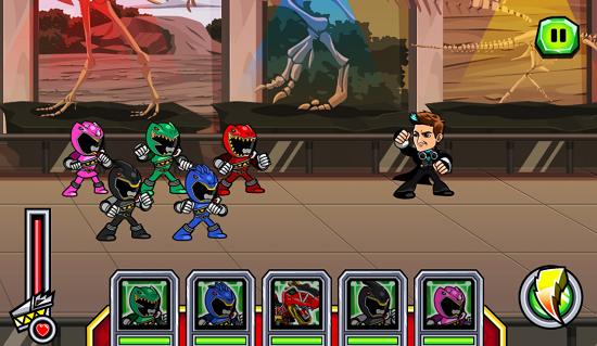 Space Ranger Brasil Novo Jogo Online De Power Rangers Dino Super
