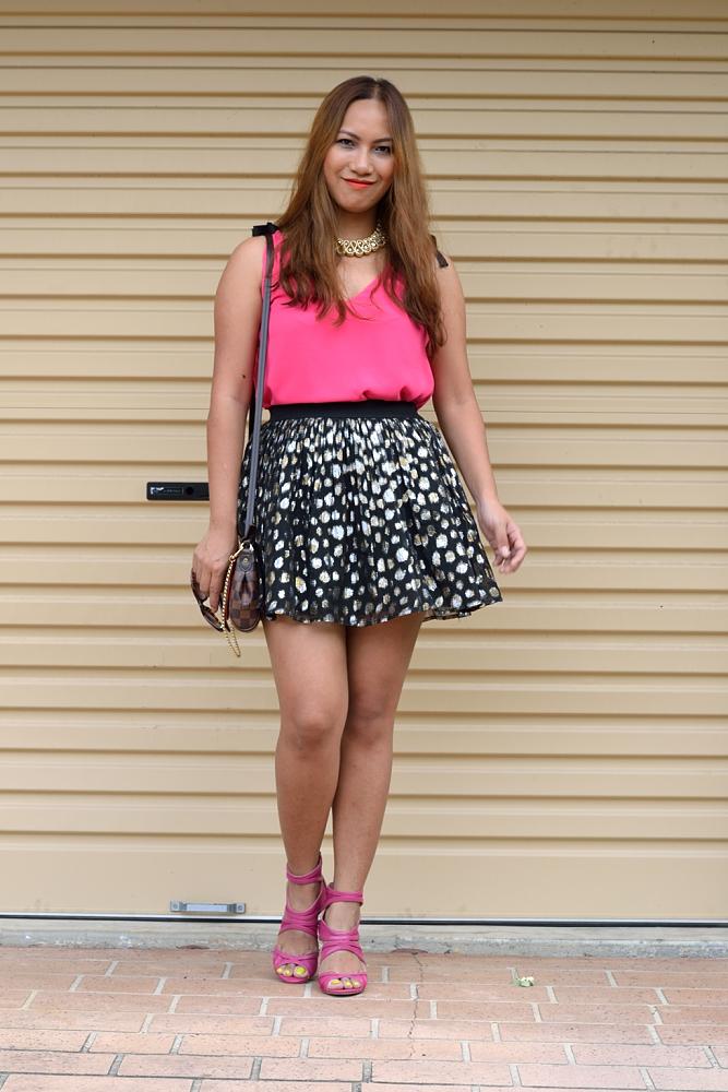 fad0ac53967b Prettier in Pink. Top  Zara