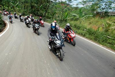 Komunitas Honda CBR turing bersama