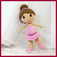 Bailarina amigurumi