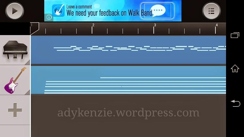 Aplikasi Android Untuk Membuat Demo Lagu