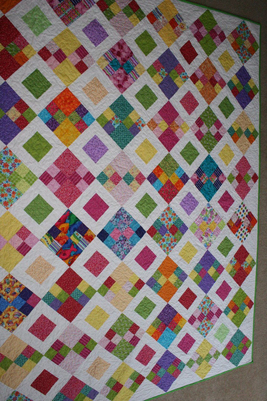 The Future's So Bright Quilt Free Tutorial