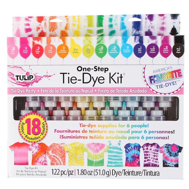 how to host a tie dye party