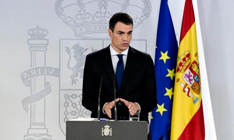 وصول رئيس الوزراء الاسباني في المغرب في زيارة عمل