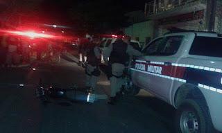 Jovens colidem em viatura da Polícia de Nova Floresta; Samu de Cuité é acionado