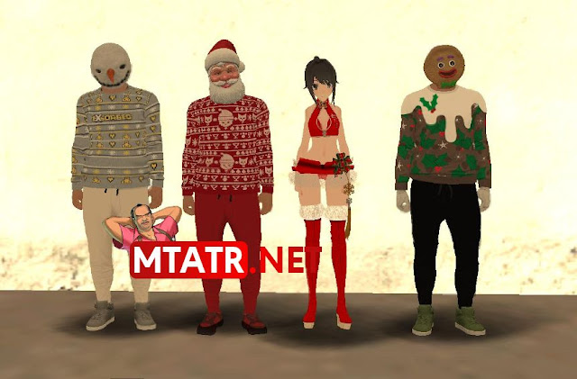 MTA Christmas Skin Pack