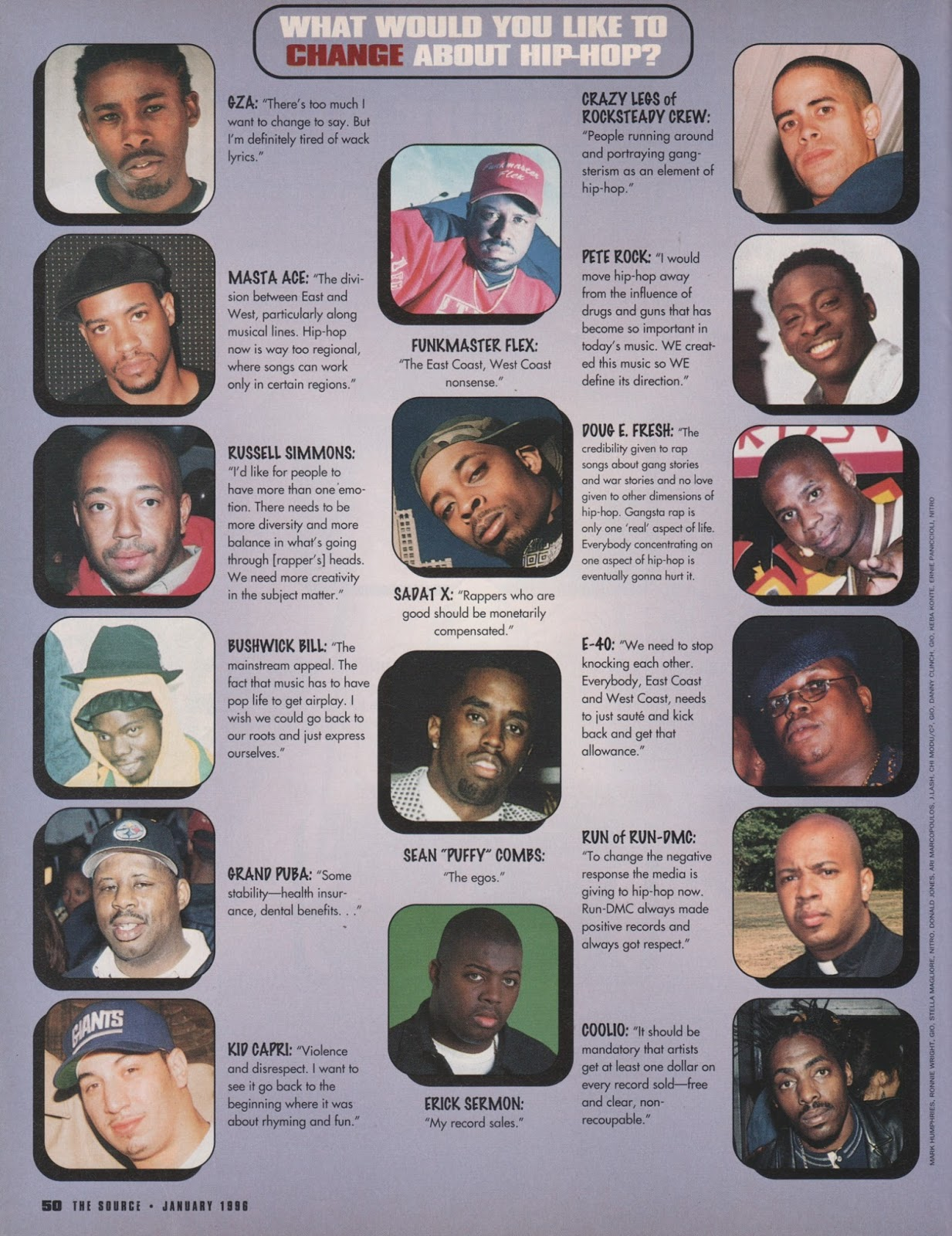 The Source Magazine January 1996