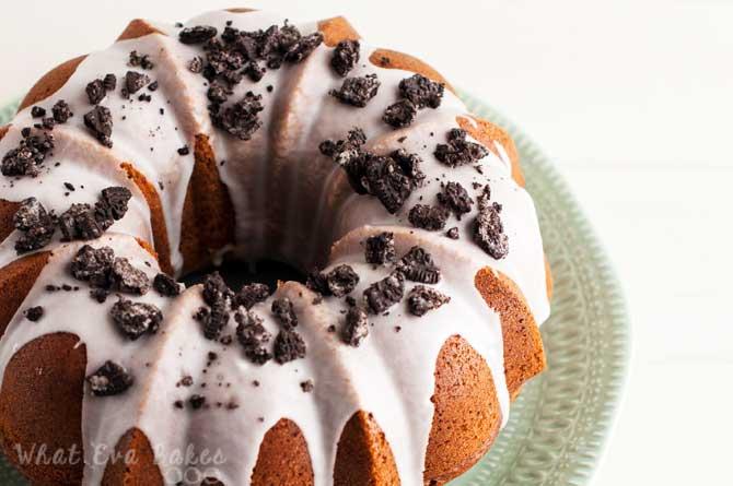 Bundt cake de oreo