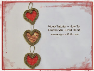 homemade twine hearts