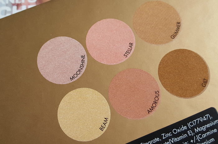 Review: bellápierre Cosmetics - Glowing Palette Highlighter - Moonshine, Stellar, Glimmer, Beam, Amorous, Gilt