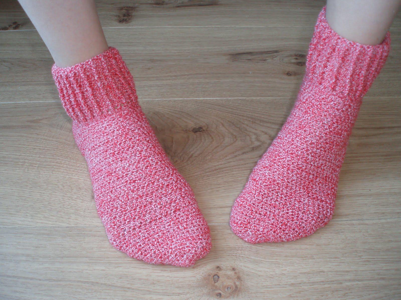 Karin Aan De Haak Gehaakte Sokken Met Stretch