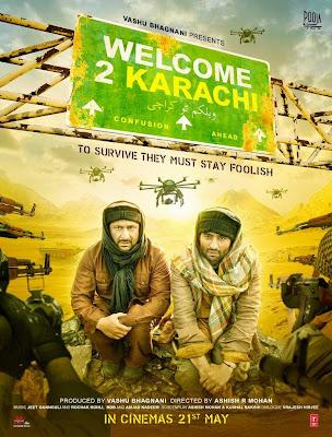 Welcome To Karachi 2015 Hindi HDTV 700mb