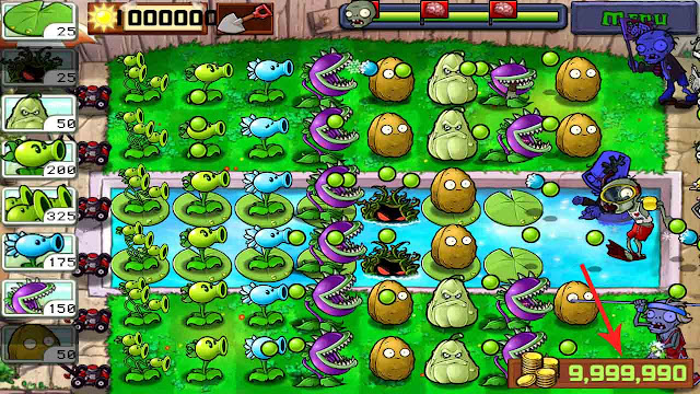 plant vs zombie cheat mod apk