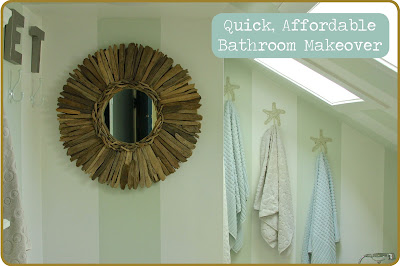 quick bathroom makeover a thrifter in disguise easy affordable bathroom update 14060
