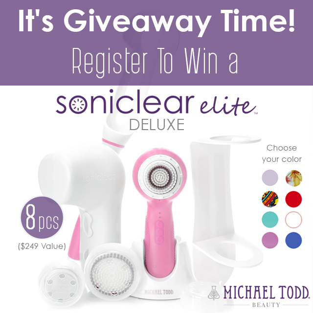 Win a Michael Todd Beauty soniclear elite deluxe by barbies beauty bits