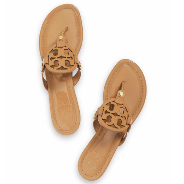 Tory Burch Miller Sandals in Sand | Cate Renée