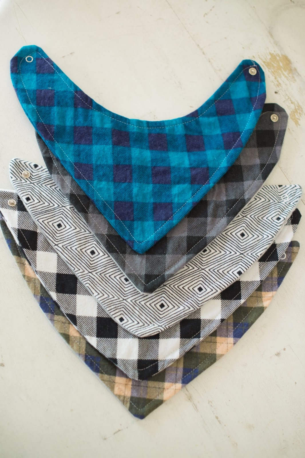 Domestic fashionista bandana bib tutorial he gets lots of compliments on them often they get referred to as scarves by strangers but we dont mind they are cute no matter what you call them baditri Images