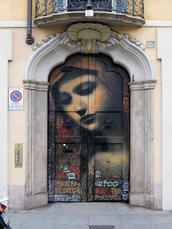Реалистичные рисунки на стенах. El Mac 26