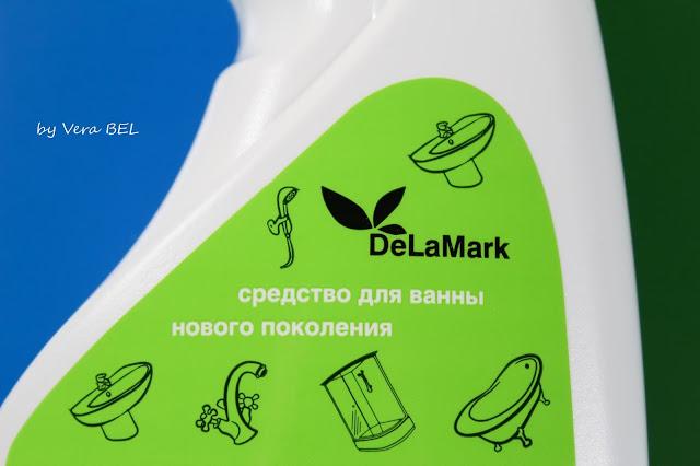 Sredstvo dlya uhoda za vannoy komnatoy De La Mark