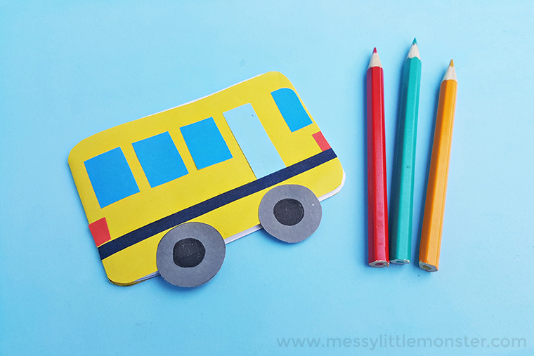 wheels on the bus nursery rhyme transportation activity for toddlers and preschoolers