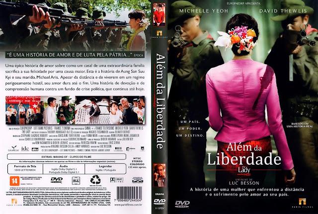 Capa DVD Além da Liberdade