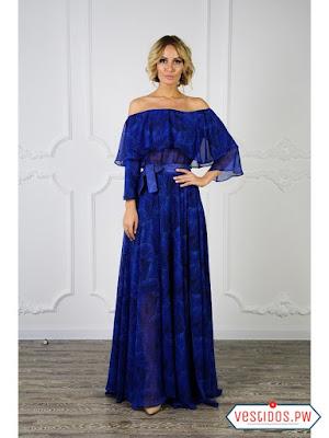 Vestido azul bonitos