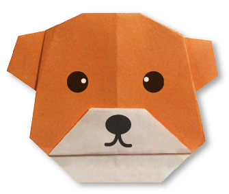 How To Make An Origami Hat Cat Diagram Bearface Bear Face Easy Instructions Intermediate