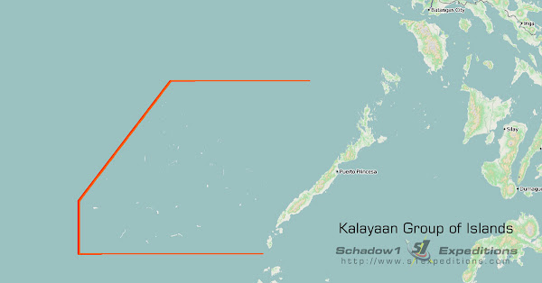 Kalayaan Group of Islands - Boundaries - Schadow1 Expeditions