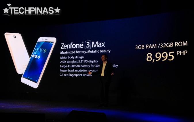 Asus ZenFone 3 Max Price Philippines