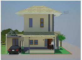 jasa desain rumah minimalis 2 lantai Persadaland.com