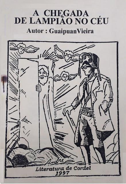 A chegada de Lampião no céu - Guaipuan Vieira
