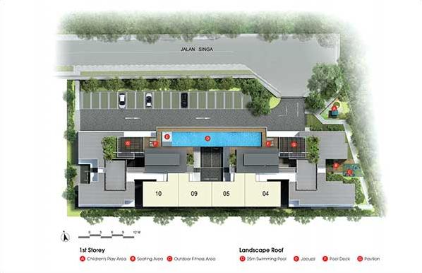 SingaHills @ Jalan Singa Site Plan