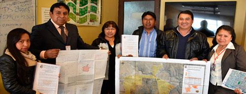 Villazón presenta a Autonomías la homologación de su mancha urbana