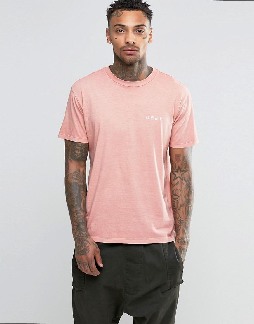 Camiseta Rosa Pastel Masculina