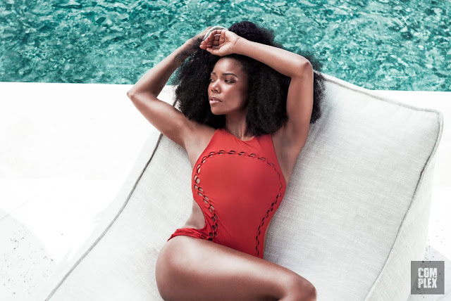 Gabrielle Union Exudes Hotness In New Issue Of Complex Magazine