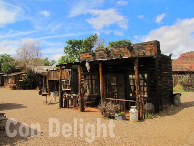 little hollywood western set