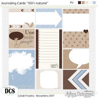 DCS 100% naturel  - Les  petites Cartes