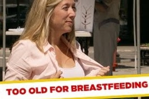 Funny Video – Cougar Mom Breastfeeds Teen
