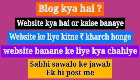 blog_kya_hai_website_kaise_internet_se_paise_kaise_kamaye