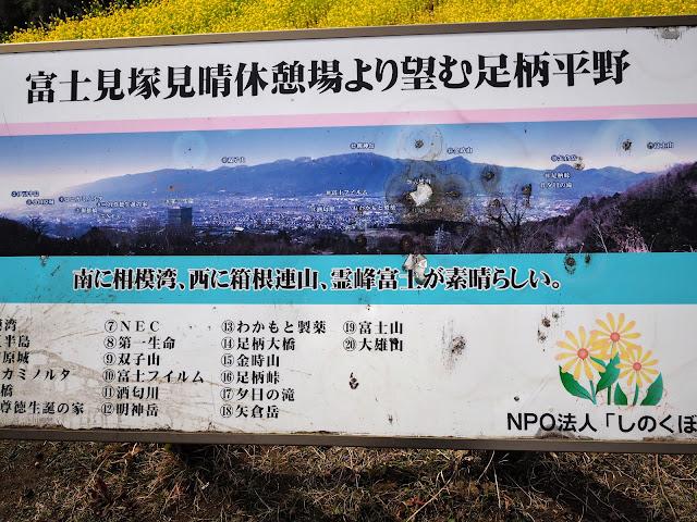 篠窪 富士見塚 休憩所